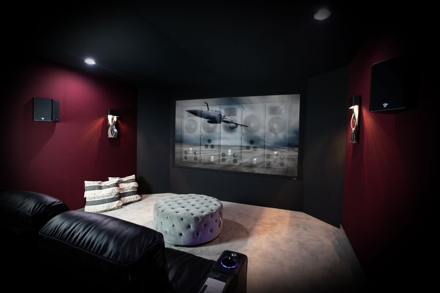 Experience Immersive, Behind-the-Screen Audio in Your Custom Home Theater