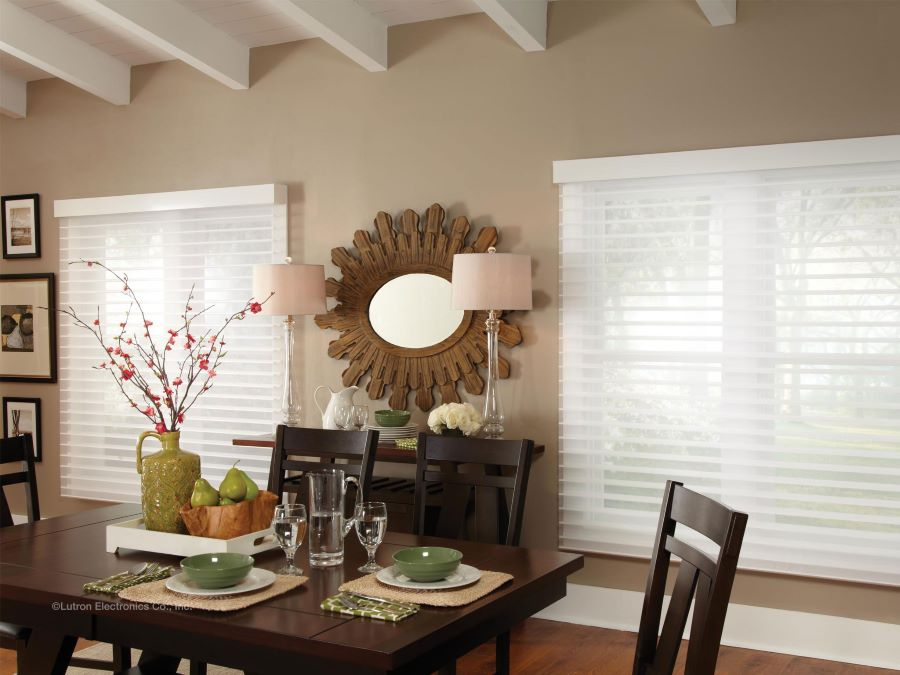 The Benefits of Lutron's Motorized Blinds